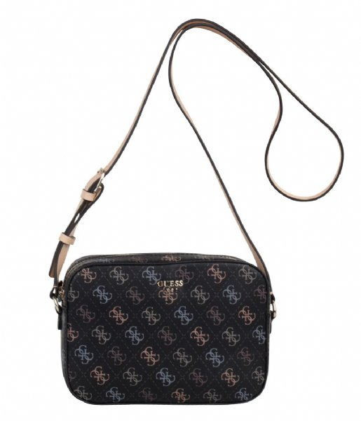 f31ad6c5f39 Kamryn Crossbody Top Zip black Guess