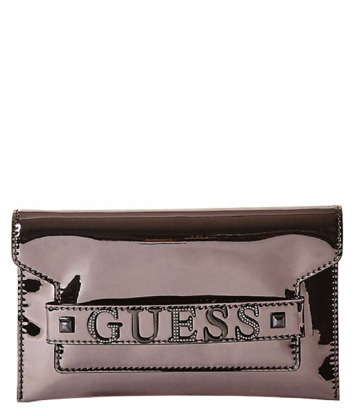 Bag Little Green Clutch Pewter Summer Night City Xbody GuessThe thBrdsCxQo