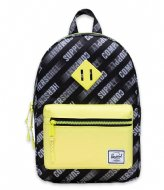 Herschel Supply Co. Heritage Kids  HSC Montion Black/Highlight (4688)