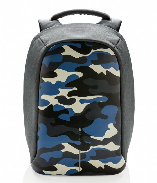 70b8cef108 Bobby Compact Anti Theft Backpack camouflage blue (655) XD Design ...